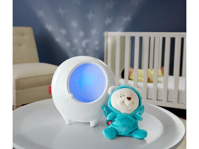 Fisher Price projektor s motýlím kamarádem pro klidné sny (1)
