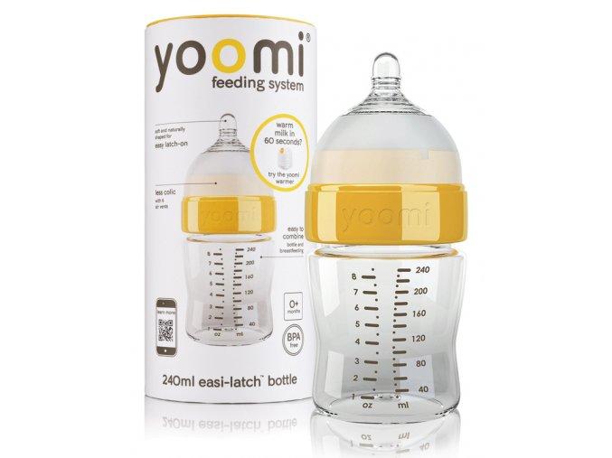 Yoomi kojenecká láhev 240 ml