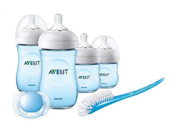 Philips Avent novorozenecká startovní sada Natural modrá