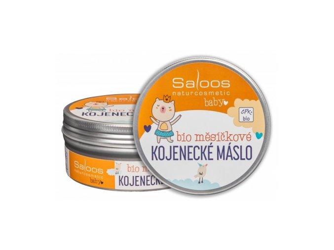 Šlehané bio měsíčkové kojenecké máslo 150ml Saloos
