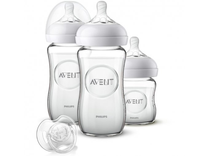 Philips Avent skleněná novorozenecká sada Natural (1)