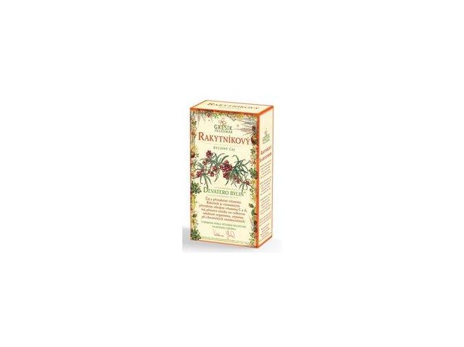 Grešík Rakytníkový čaj 20x2g přebal
