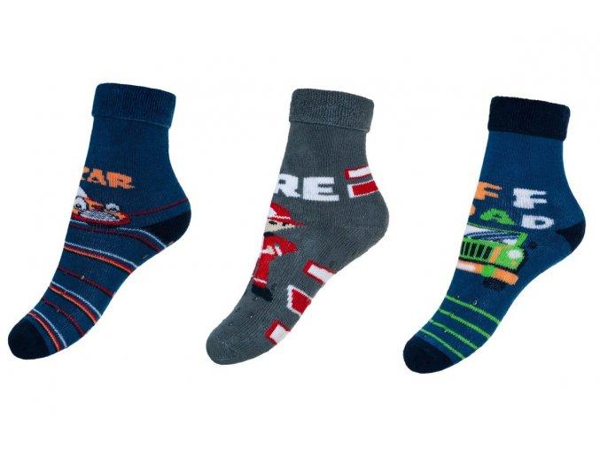 BeSnazzy protiskluzové ponožky pro zdravé lezení a první krůčky chlapecké