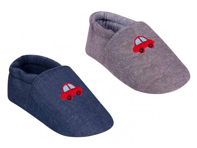 YO capáčky bačkůrky bavlněné s autíčkem