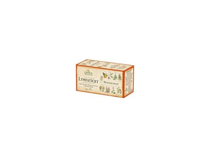 Grešík Lymfatický čaj 20x1,5g Devatero bylin