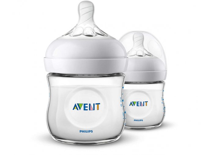 Láhev Avent Natural 125ml, 2ks