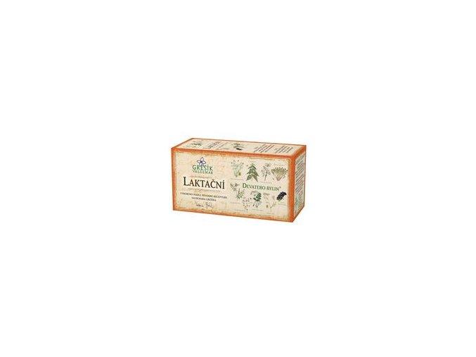 Laktační čaj 20 n.s. Grešík - Devatero bylin