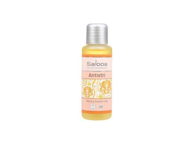 Tělový a masážní olej ANTISTRI 50ml Saloos