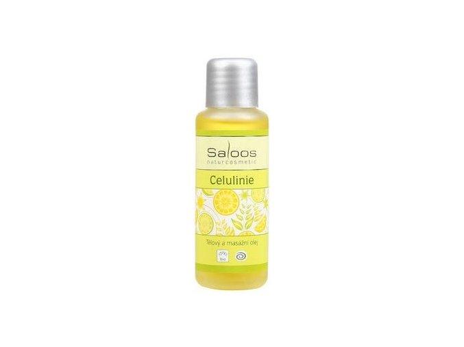Tělový a masážní olej CELULINIE 50ml Saloos