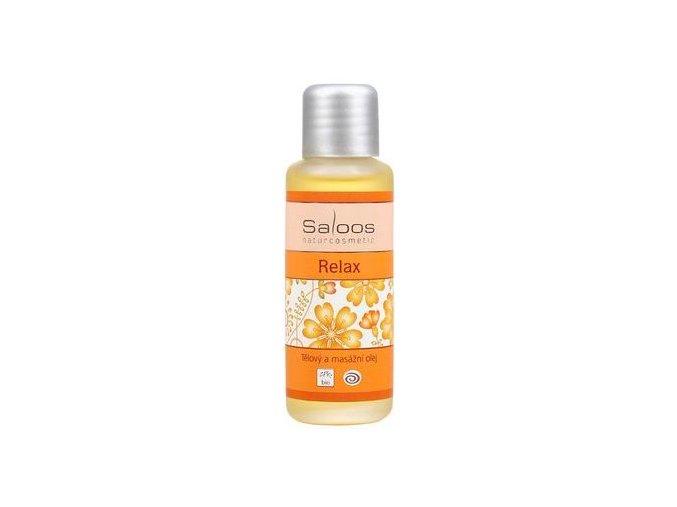 Tělový a masážní olej RELAX 50ml Saloos