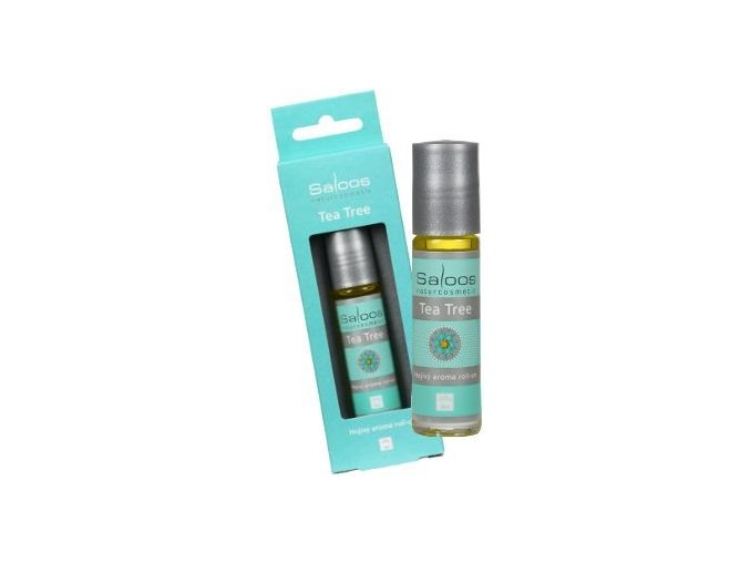 Saloos Bio aroma roll-on TEA TREE 9 ml - hojivý