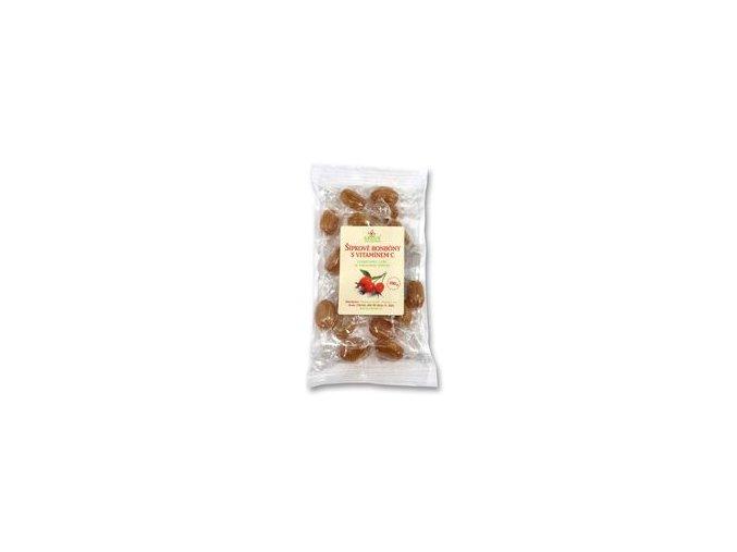 Šípkové bonbony s vitaminem C 100 g GREŠÍK