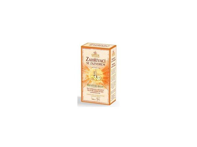 Grešík Zahřívací čaj se závorem sypaný 50g Devatero bylin