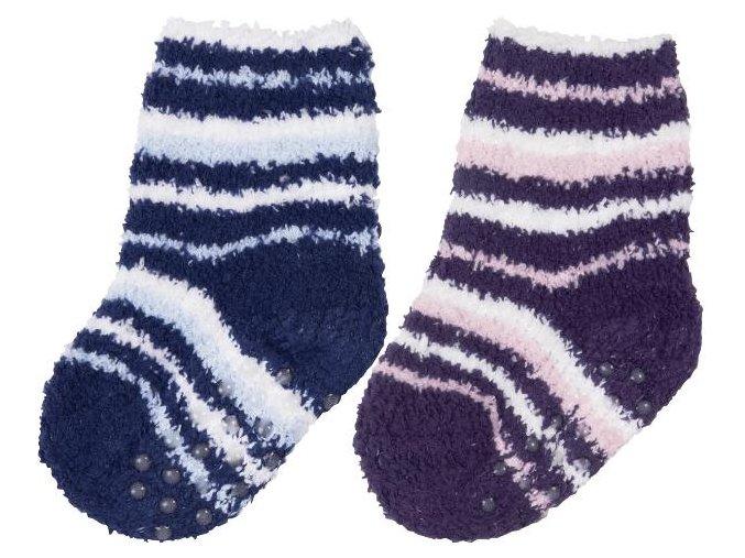Playshoes ponožky flísové protiskluzové