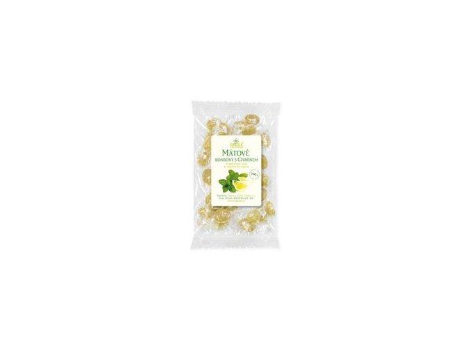 Mátové bonbóny s citrónem 100 g GREŠÍK