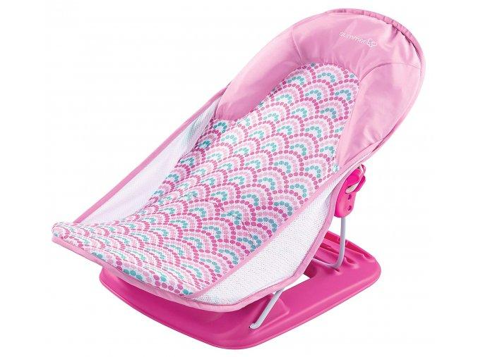Summer Infant Koupací lehátko růžová (4)
