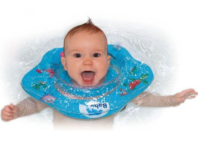 Baby Ring koupací kruh kolem krku - koupání miminek od narození