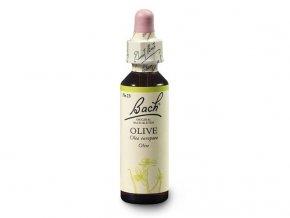 Bachovy esence Olive 20ml