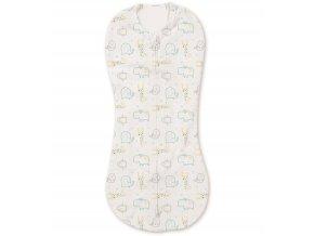 Summer Infant zavinovačka pro novorozence SwaddlePod zoologická zahrada