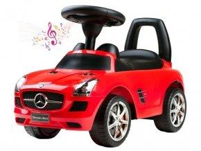 Bayo Dětské jezdítko Mercedes Benz červené (1)