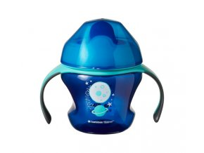 Tommee Tippee Netekoucí hrneček Explora First Cup 150ml 4m modrý (2)
