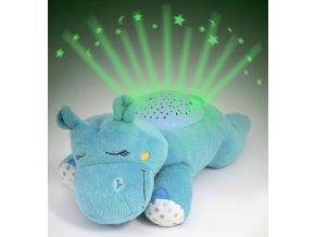 Usínáček se světly a zvuky Summer Infant Kámoš na spaní hrošík (1)