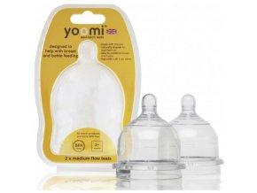 Yoomi savičky medium flow 2ks střední průtok
