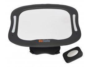 BeSafe přídavné zrcátko do auta Baby mirror XL s osvětlením (1)