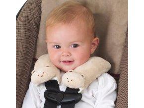 Summer Infant návleky na bezpečnostní pásy Tan Bear (1)
