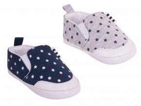 YO capáčky kojenecké botičky s hvězdičkami