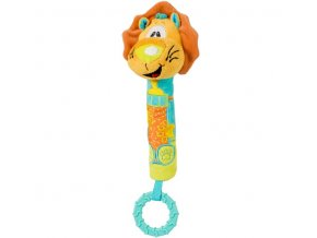 Baby Ono Pískací hračka lvíček s kousátkem