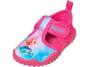 Playshoes neoprenové boty do vody s UV ochranou růžové Mořská víla