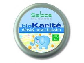 Bio Karité DĚTSKÝ NOSNÍ BALZÁM 19ml Saloos