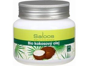 Saloos Bio Kokosový olej 250 ml lisovaný za studena