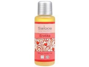 Tělový a masážní olej EROTIKA 50ml Saloos