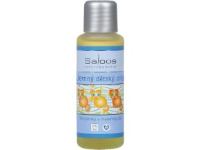 Saloos Bio Jemný dětský olej 50 ml