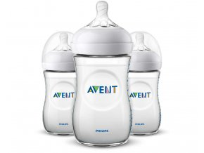 Láhev Avent Natural 260 ml 3ks