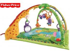 Fisher-Price Rainforest hrací deka s hrazdičkou K4562