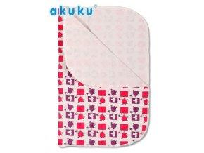 Přebalovací podložka Akuku 55x70 - růžovofialová