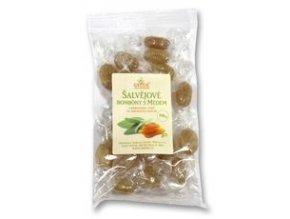 Šalvějové bonbony s medem 100 g GREŠÍK