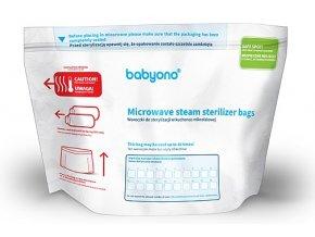 Sáčky do mikrovlnné trouby ke sterilizaci Baby Ono 5ks