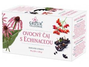 Grešík Ovocný čaj s echinaceou 20x1,5g