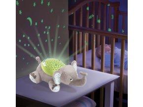 Usínáček se světly a zvuky - Summer Infant Kámoš na spaní Slon Edie
