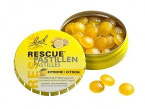 rescue pastilky citron