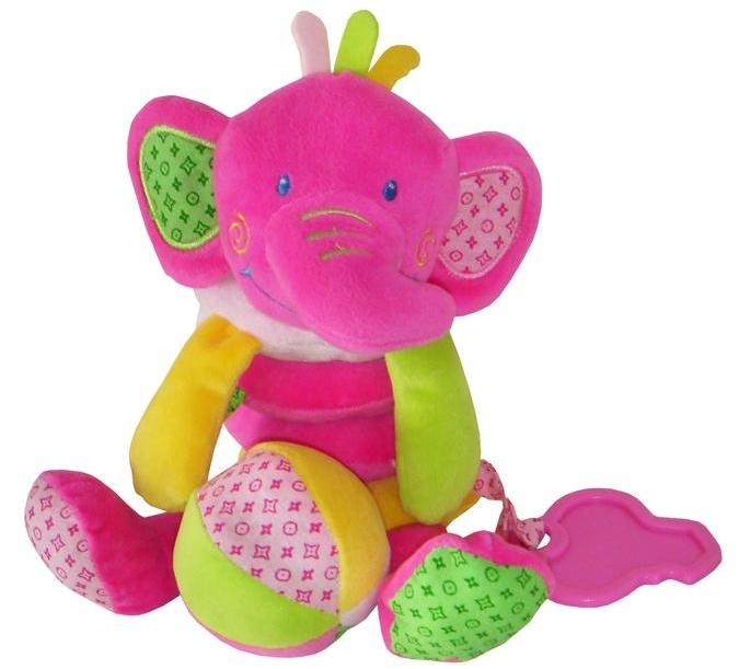 Baby Mix Spirála na postýlku - sloník
