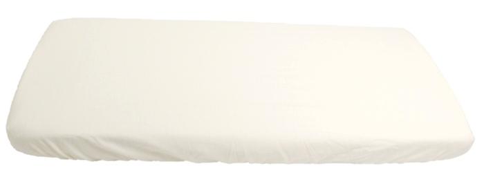 Kaarsgaren - 2v1 prostěradlo a chránič matrace 60x120cm barva: bílá