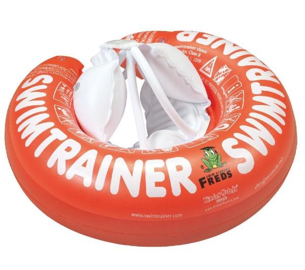 Swimtrainer Classic plavací kruh pro miminka barva: oranžový (2 roky-6 let), 15-30kg