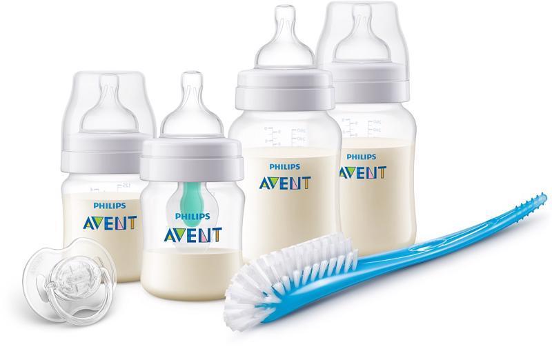 Avent novorozenecká startovní sada Anti-colic s ventilem AirFree