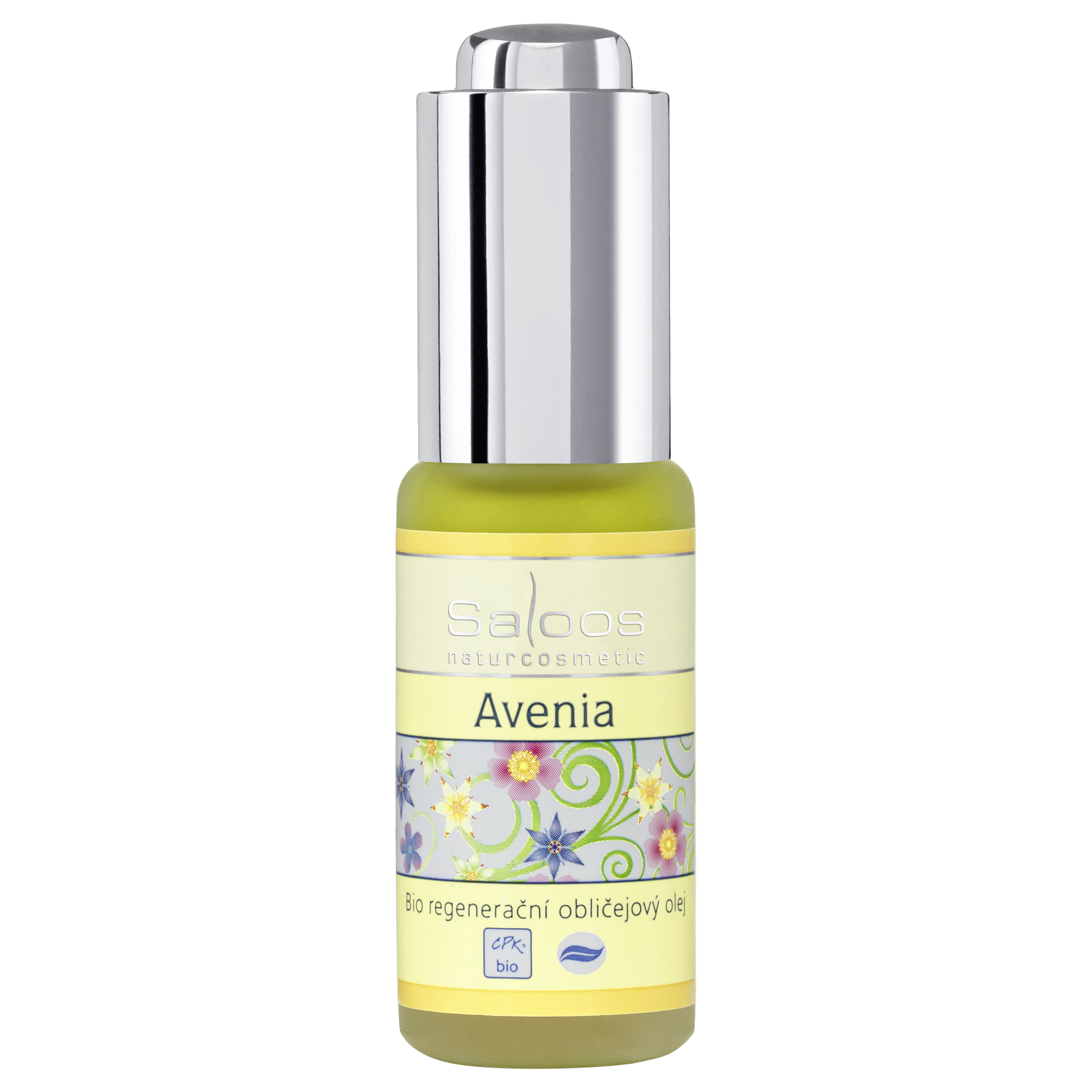 Regenerační obličejový olej AVENIA 20ml Saloos