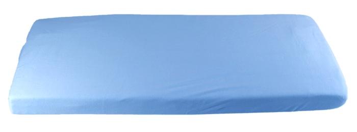 Kaarsgaren prostěradlo biobavlna 70x140 barva: modrá